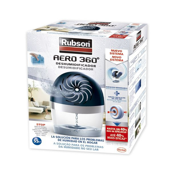 DESHUMIDIFICADOR aparato 450 gr.RUBSON